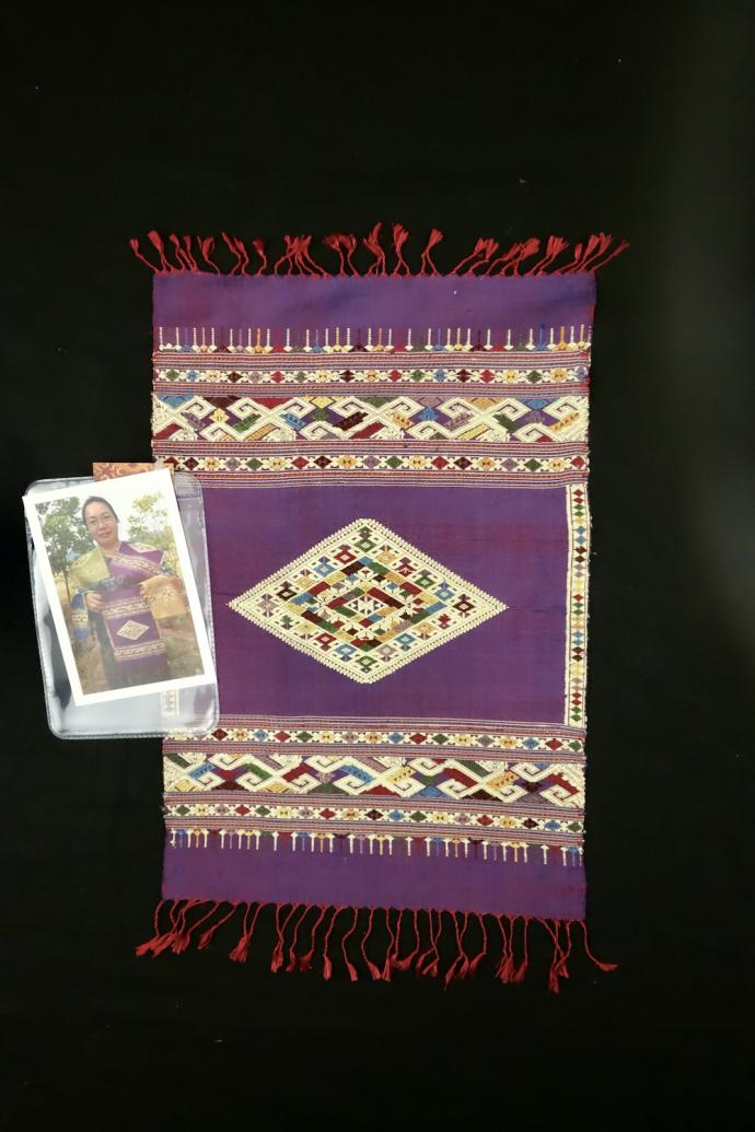 Purple Diamond Altar Cloth