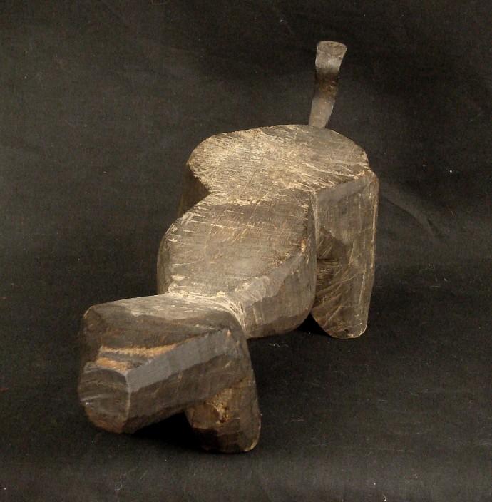 Antique Coconut Scraper
