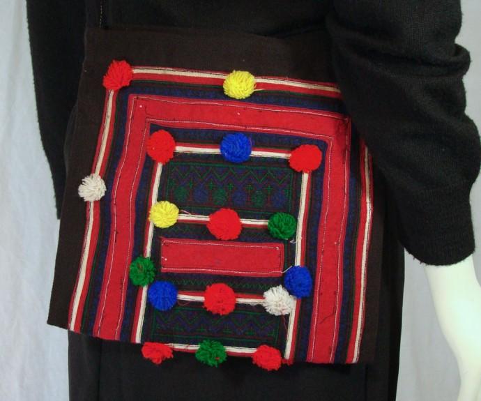 PomPom Yao Shoulder Bag