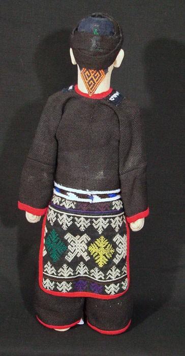 Red Dzao Man Doll