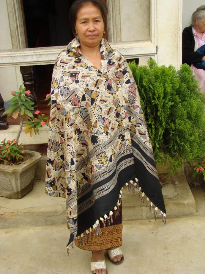 Saang Hong and Ancestor Spirit Textile