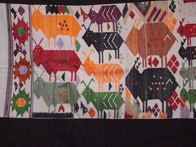 Tai Daeng Horse Blanket with bomber motif