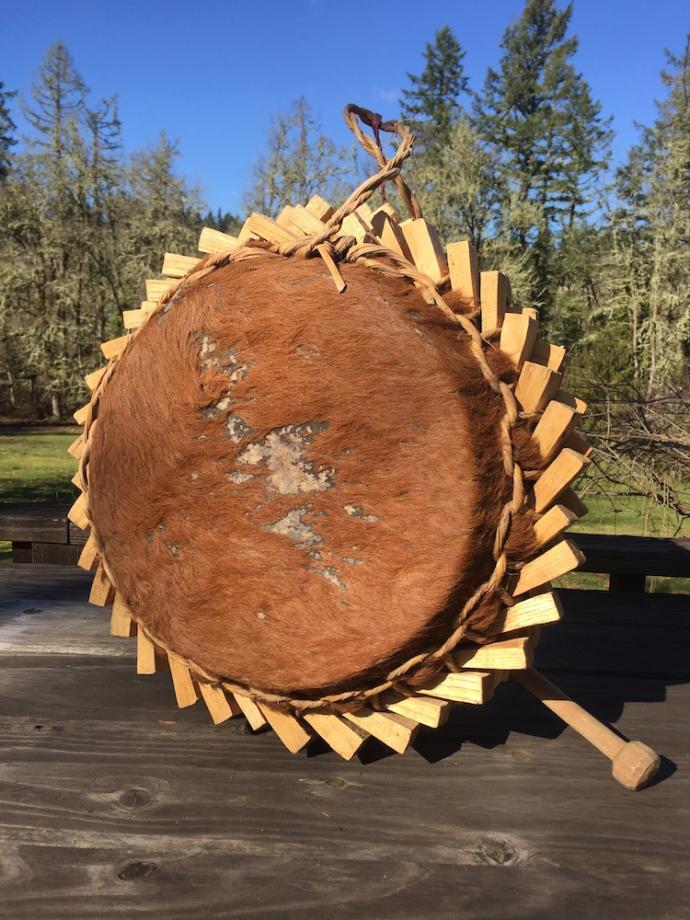 Large Dzao shaman's drum
