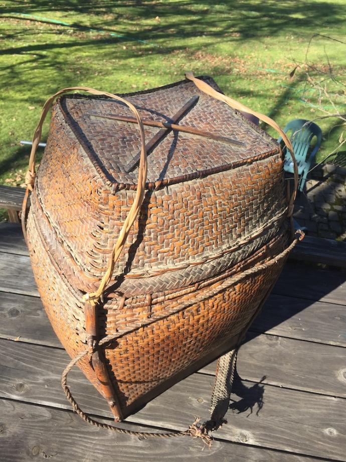 Large Lao Loum storage basket