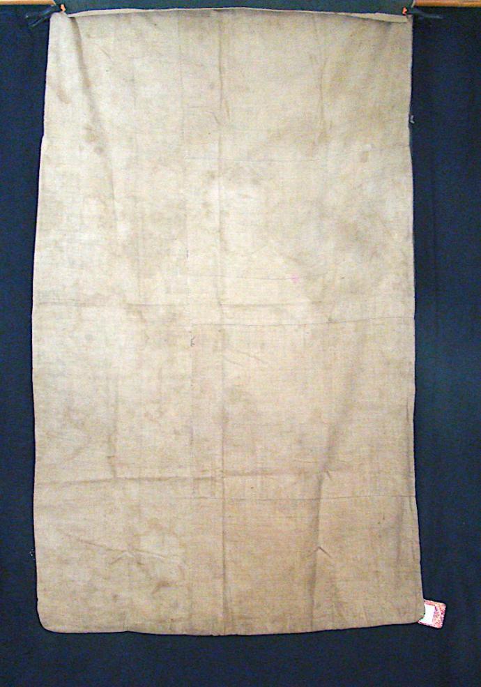 Tai Daeng shaman's cloth with ikat dragons