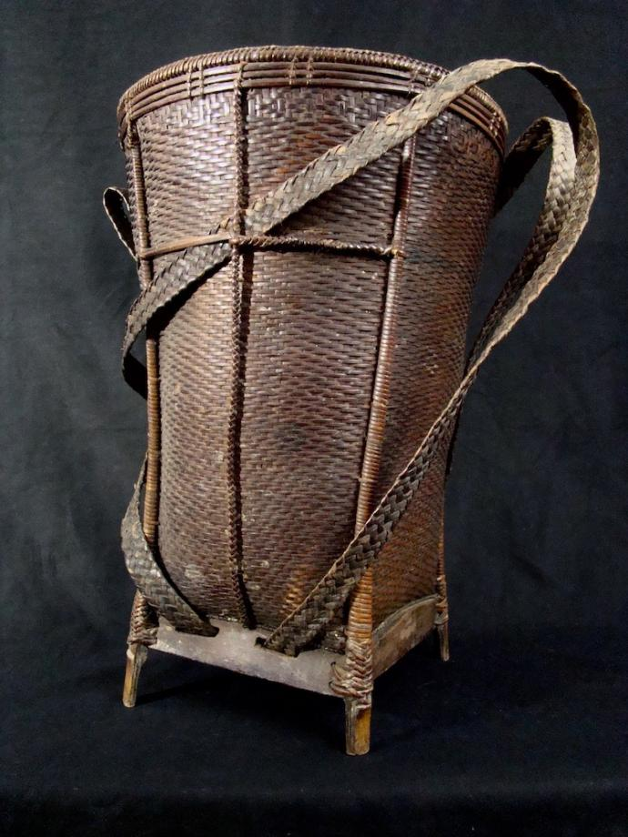 Katu open backpack basket
