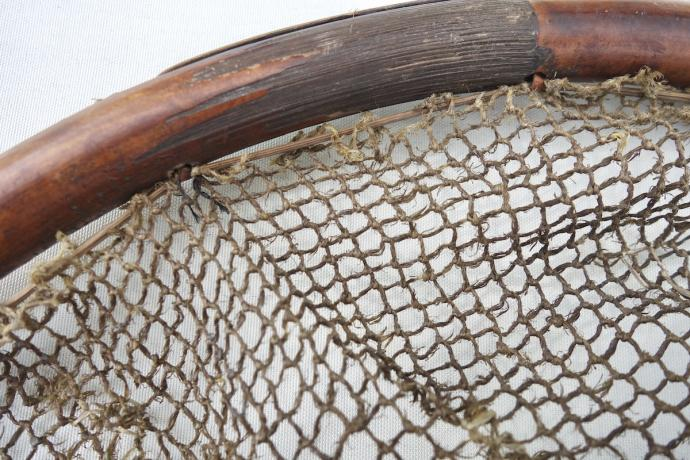 Long bamboo fish net