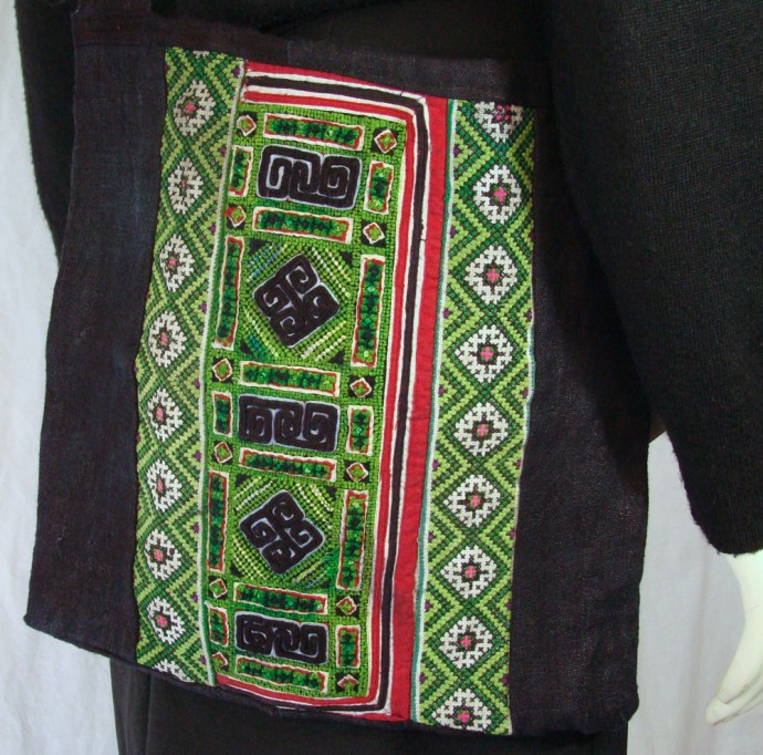 Hmong Hemp Shoulder Bag