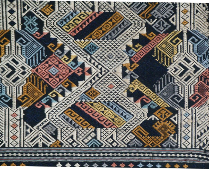 Saang Hong and Ancestor Spirit Textile