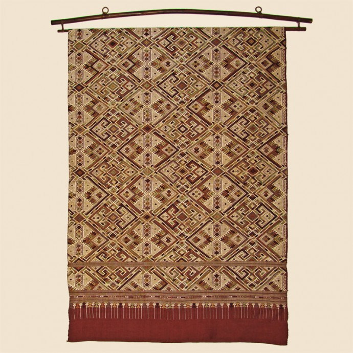 Silk Shaman Cloth or Ceremonial Wedding Blanket