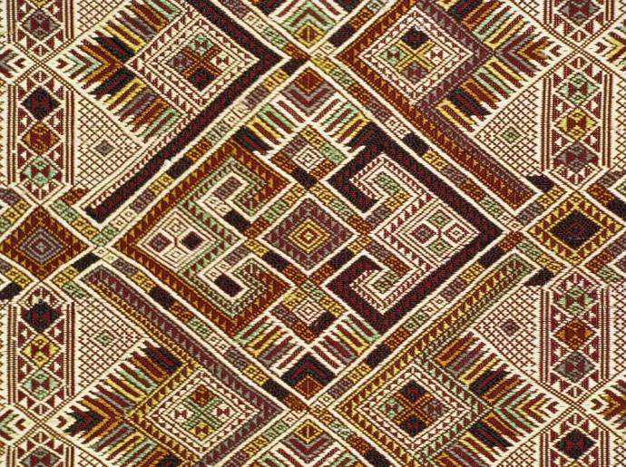 Silk Shaman Cloth or Ceremonial Wedding Blanket