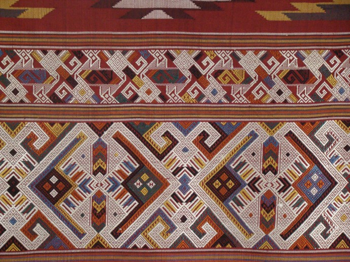 Tapestry Weave Healing Cloth