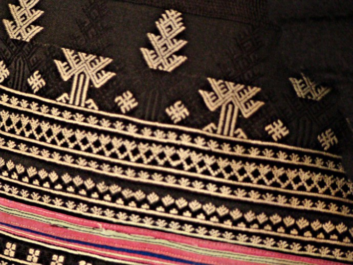 Three-part Design Shoulder Bag